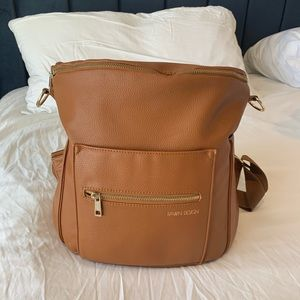 Fawn design diaper backpack